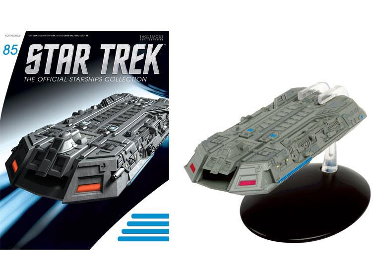 Star Trek Starships Collection Federation Holo Ship Vehicle with Magazine