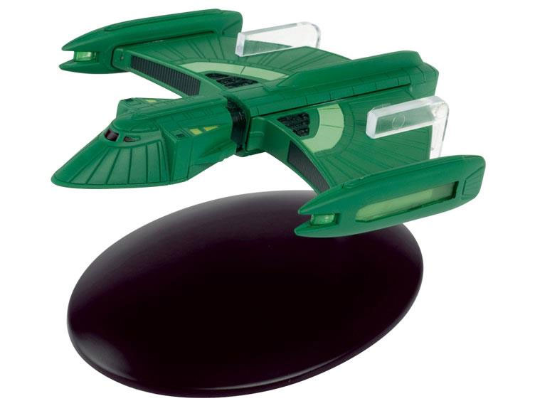 Star Trek Starships Collection Romulan Scout Ship Diecast Vehicle with Magazine