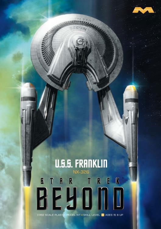 Star Trek Beyond U.S.S. Franklin 1/350 Scale Plastic Model Kit by Moebius