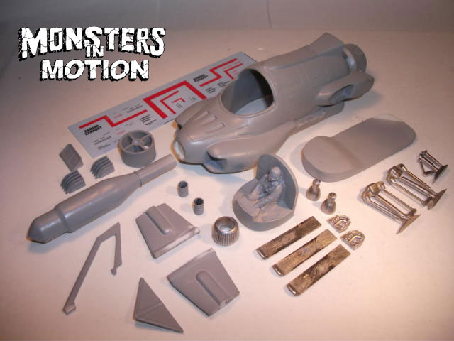 U.F.O. TV Series Interceptor 1:32 Scale Model Kit by Finishers Gerry Anderson
