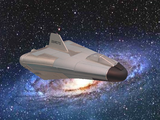 U.F.O. TV Series Sid Repair Shuttle 1/72 Scale Model Kit