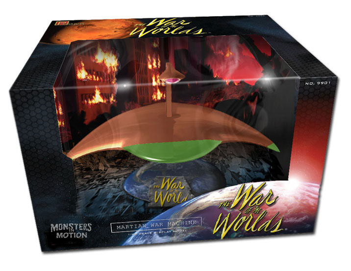 War Of The Worlds 1953 Martian War Machine 1/48 Copper Plated Display