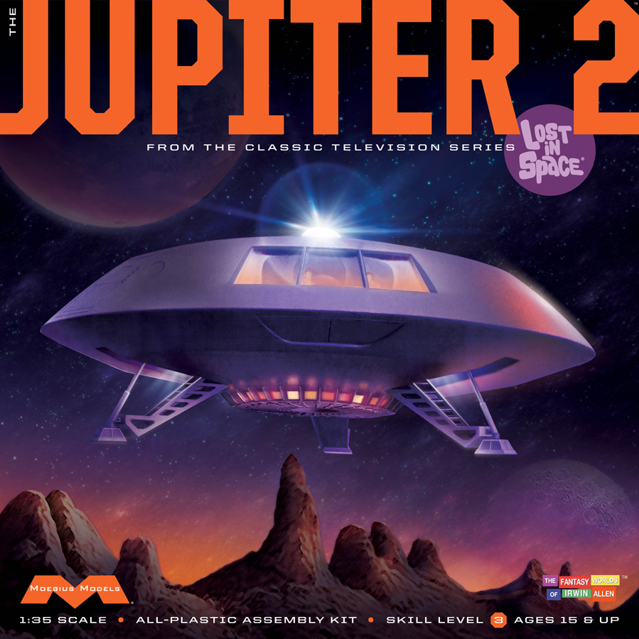 "Lost In Space Jupiter 2 II 18"" Plastic Model Kit"
