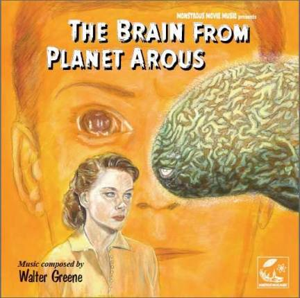 Brain From Planet Arous Soundtrack CD