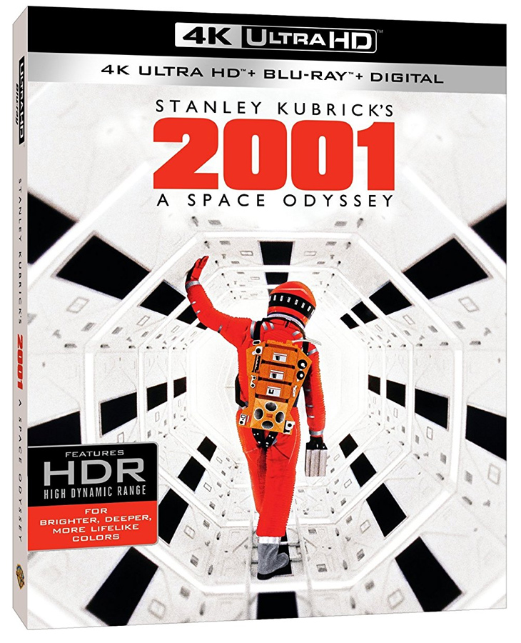 2001: A Space Odyssey UHD 4K Ultra HD + Blu-Ray