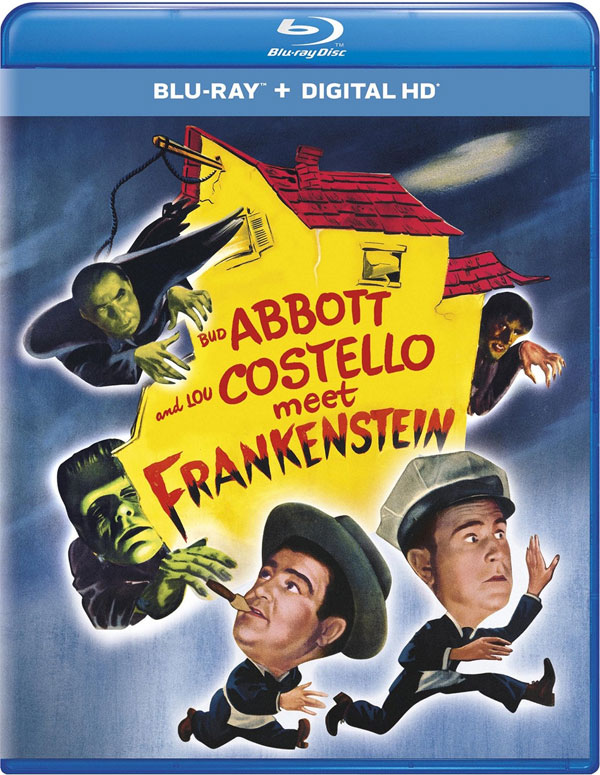 Abbott and Costello Meet Frankenstein Blu-Ray