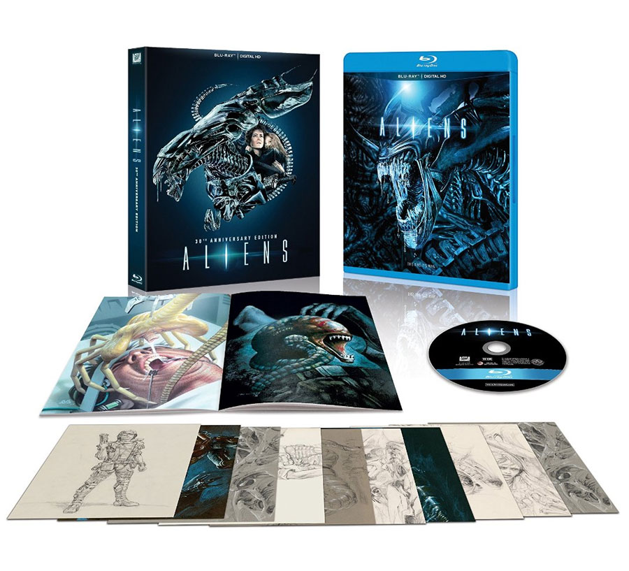 Aliens 1986 30th Anniversary Edition Blu-ray