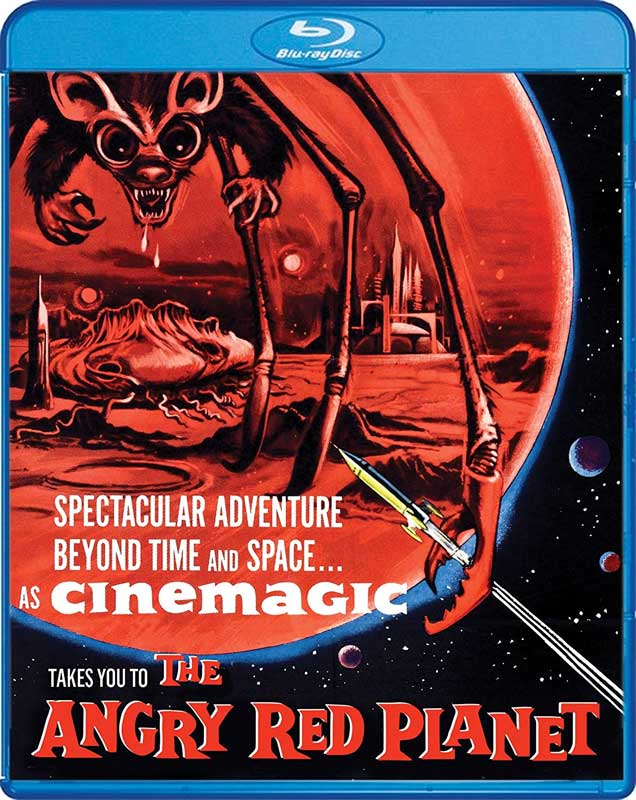 Angry Red Planet 1959 Blu-Ray