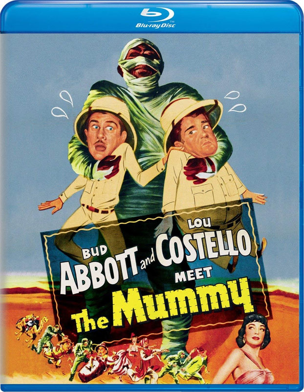 Abbott and Costello Meet The Mummy Blu-Ray