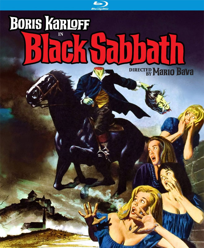 Black Sabbath 1963 A.I.P. Blu-Ray Boris Karloff