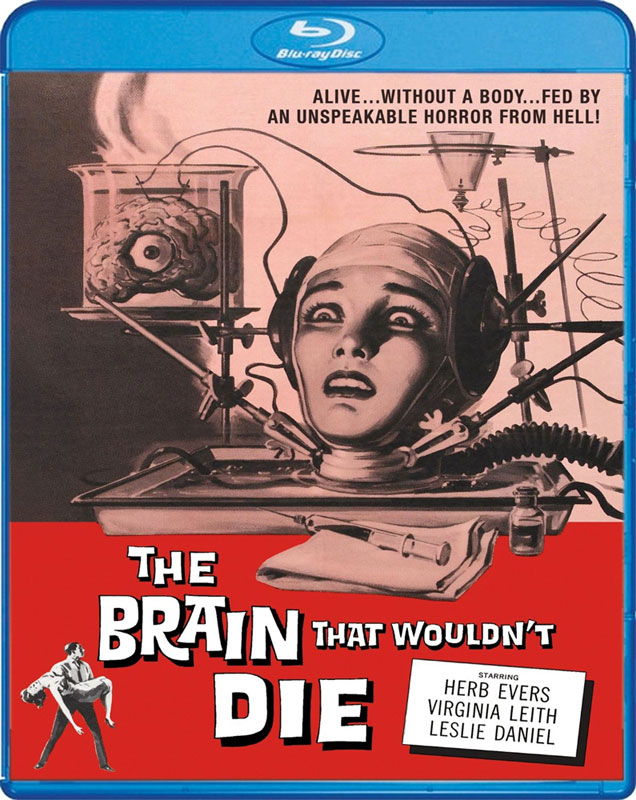 Brain That Wouldn't Die, The 1962 Blu-Ray