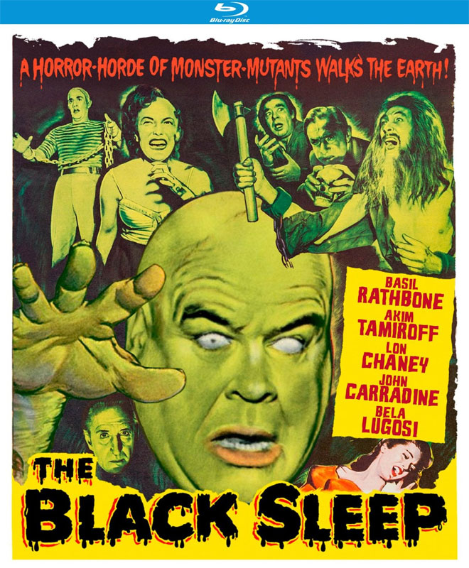 Black Sleep, The 1956 Blu-Ray Lon Chaney, Bela Lugosi
