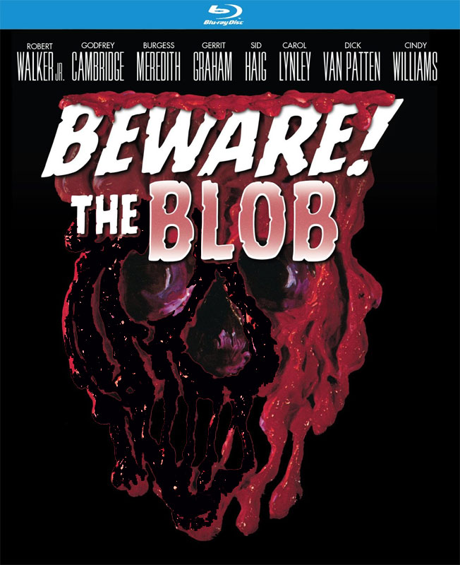 Beware! The Blob 1972 aka Son Of The Blob Blu-Ray
