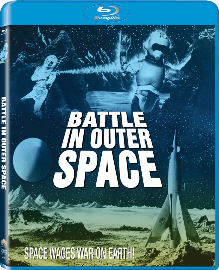 Battle In Outer Space 1959 Blu-Ray Toho Classic