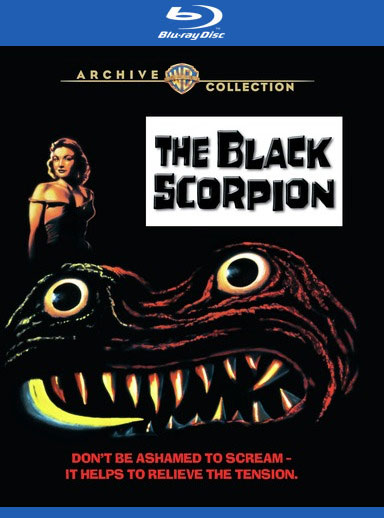 Black Scorpion 1957 Blu-Ray Willis O'Brian