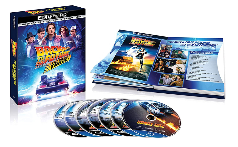 Back To The Future Ultimate Trilogy 4K Ultra Blu-Ray