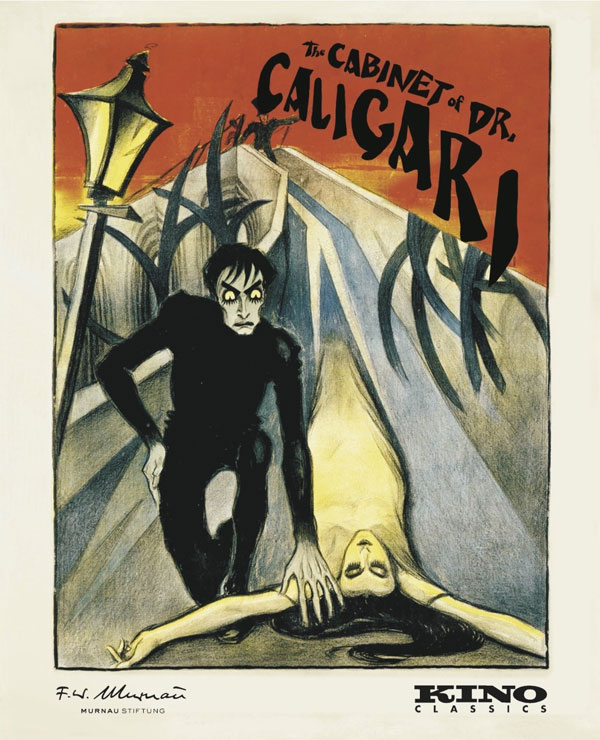 Cabinet of Dr. Caligari 1920 Blu-Ray Restored Edition