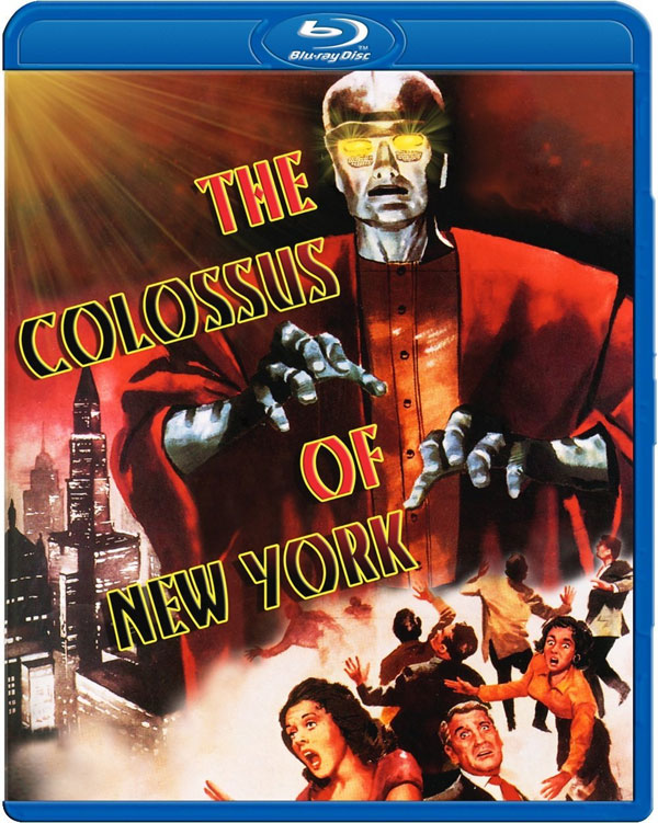Colossus Of New York 1958 Blue-Ray