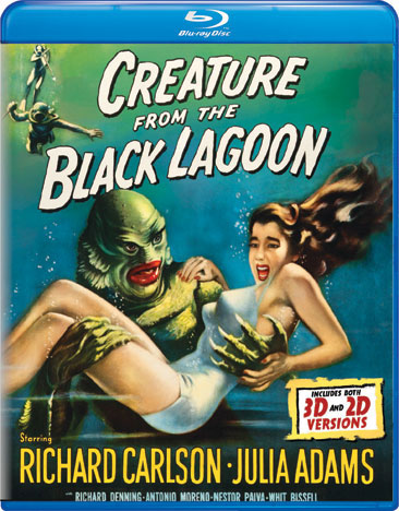 Creature From The Black Lagoon Blu-Ray (2D and 3D Versions)
