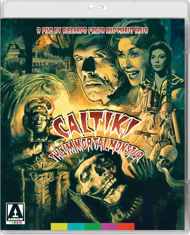 Caltiki The Immortal Monster 1959 Special Edition Blu-Ray