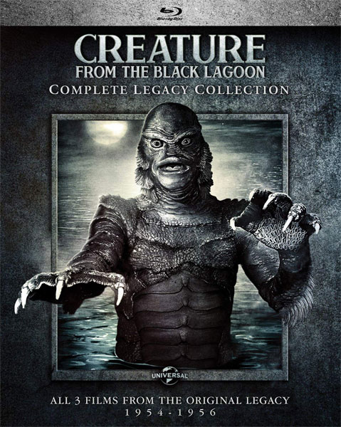Creature from the Black Lagoon Legacy Collection Blu-Ray