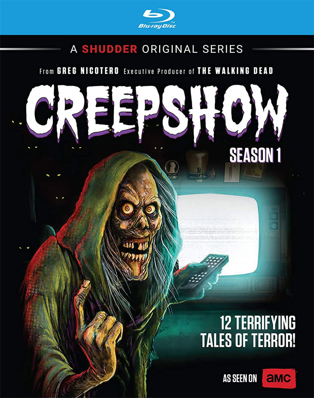 Creepshow 2020 Season 1 Blu-Ray Greg Nicotero