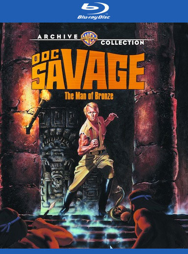 Doc Savage The Man of Bronze 1975 Blu-Ray