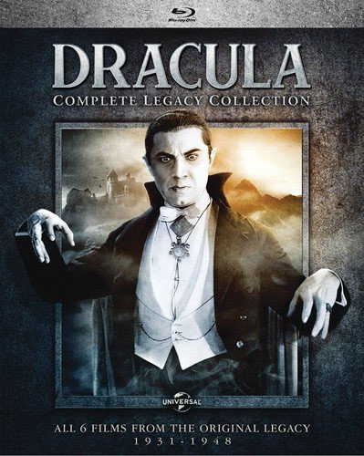 Dracula The Complete Legacy Collection Blu-Ray