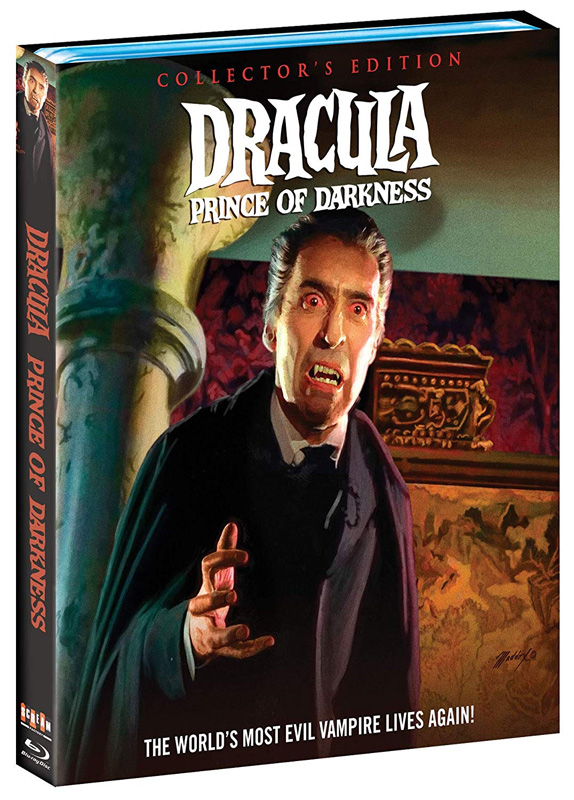 Dracula Prince of Darkness Collector's Edition 1966 Blu-Ray Christopher Lee