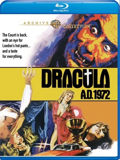 Dracula A.D. 1972 Blu-Ray Christopher Lee
