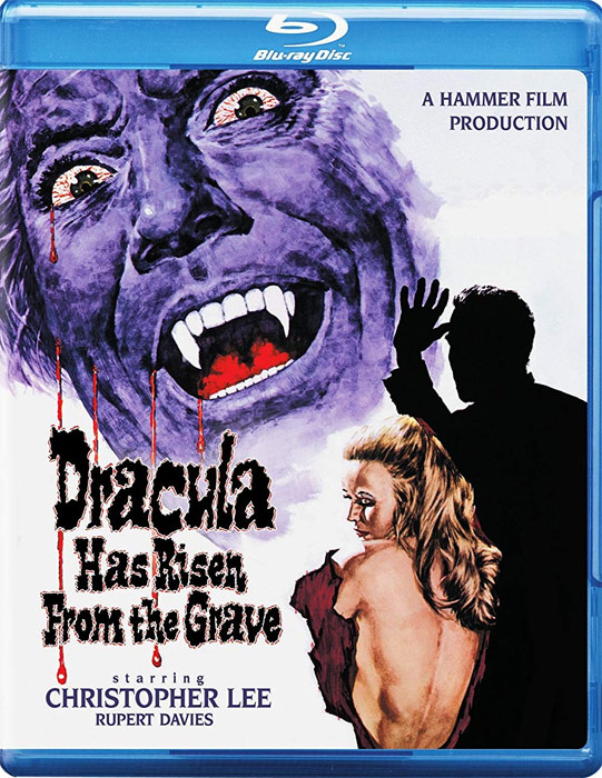 Dracula Has Risen From The Grave 1968 Blu-Ray Christopher Lee