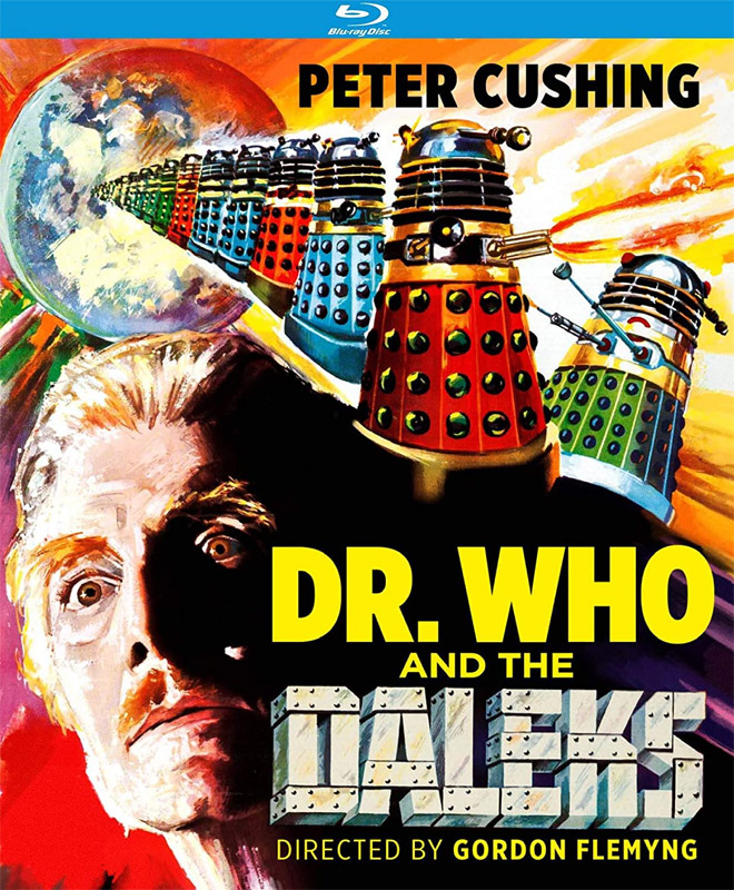 Dr. Who and the Daleks 1965 Blu-Ray Peter Cushing