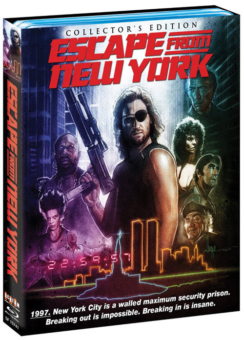 Escape From New York 1981 Collector's Edition Blu-Ray
