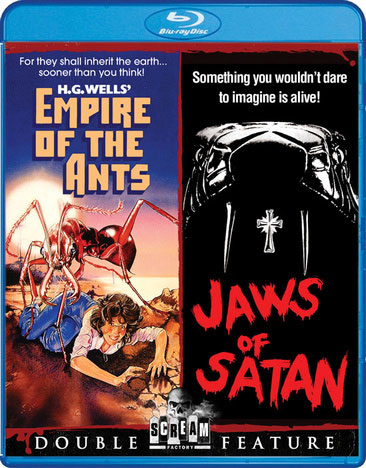 Empire Of The Ants 1977 / Jaws Of Satan 1981 Double Feature Blu-Ray
