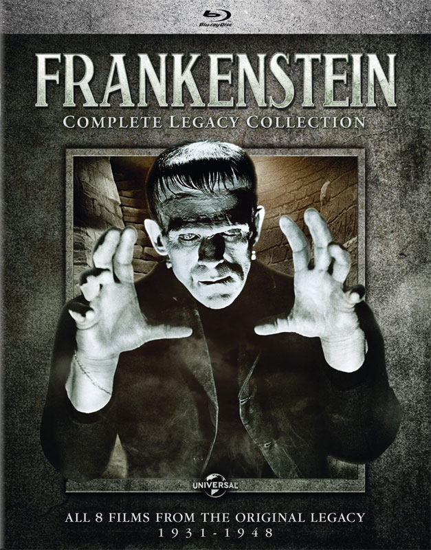 Frankenstein Complete Legacy 8 Film Collection Blu-ray