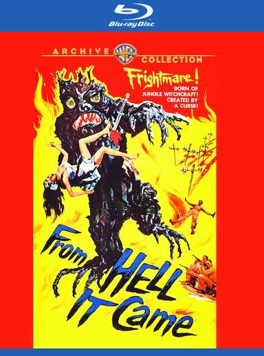 From Hell It Came 1957 Blu-Ray