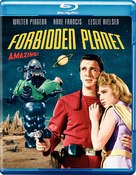 Forbidden Planet 1956 Blu-Ray