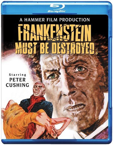 Frankenstein Must Be Destroyed 1969 Blu-Ray Peter Cushing