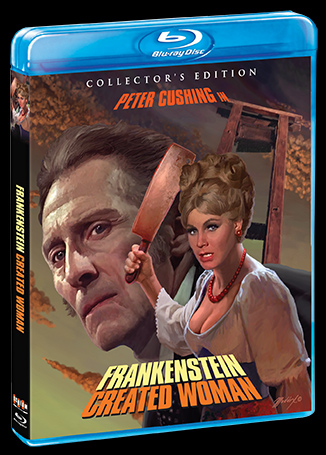 Frankenstein Created Woman 1967 Collector's Edition Blu-Ray