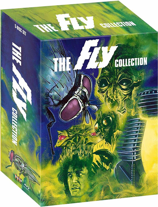 Fly Collection Blu-Ray 5 Disc Box Set