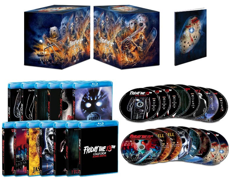 Friday The 13th Collection Deluxe Edition Blu-Ray Box Set