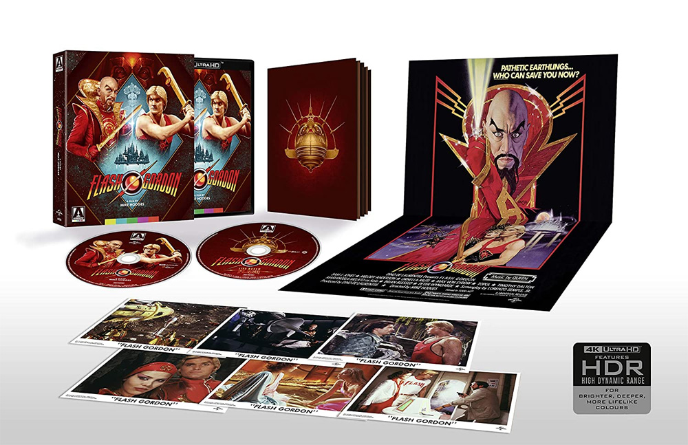 Flash Gordon 2-Disc Limited Edition 4K Ultra Blu-Ray