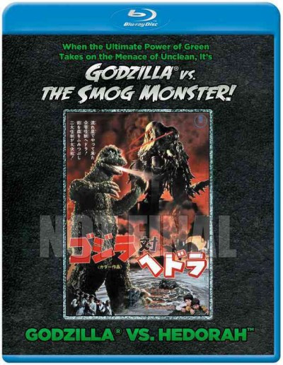 Godzilla Vs. The Smog Monster Hedorah Blu-Ray-OUT OF PRINT
