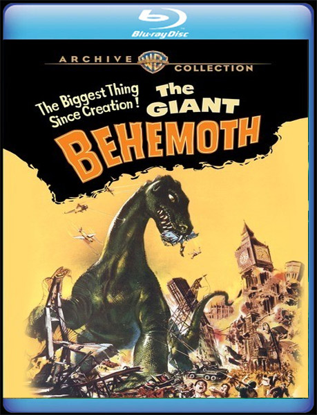 Giant Behemoth 1958 Blu-Ray