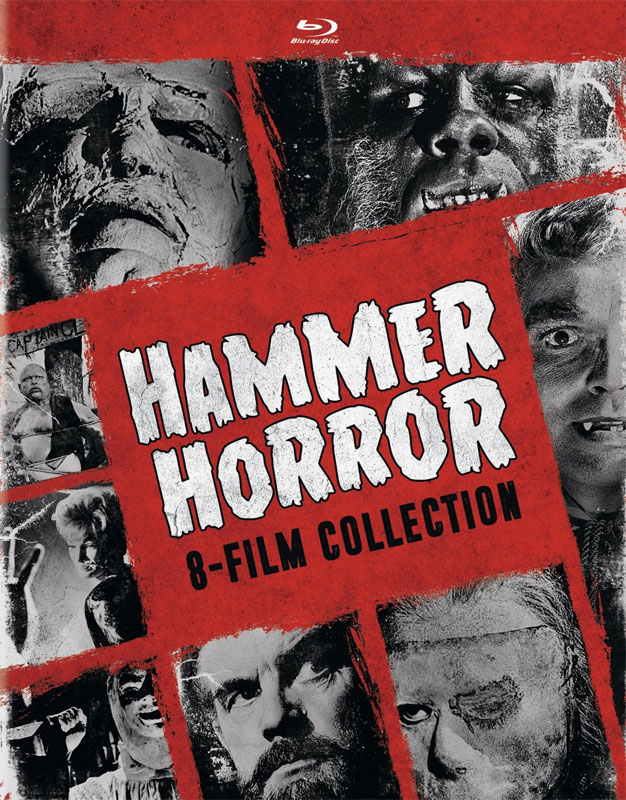 Hammer Horror 8-Film Collection Blu-Ray Set