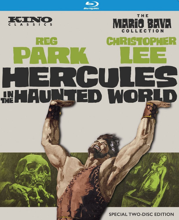 Hercules in the Haunted World 1961 Blu-Ray 2 Disc Set