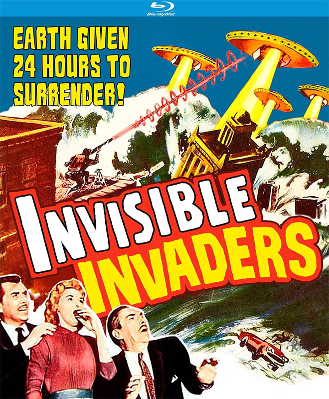 Invisible Invaders 1959 Blu-Ray