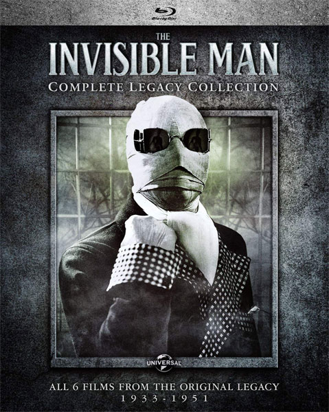Invisible Man The Complete Legacy Collection Blu-Ray