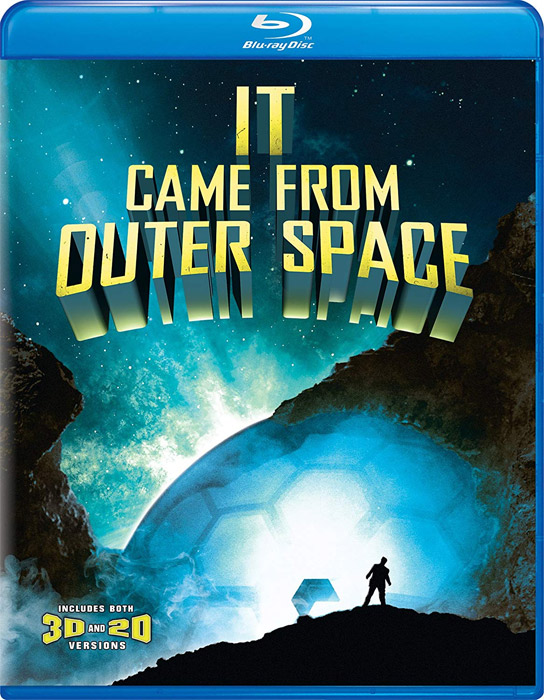 It Came From Outer Space 1953 Blu-Ray 2D and 3D