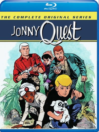 Jonny Quest 1964 The Complete Original Series Blu-ray Johnny Quest